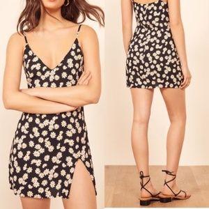 Reformation Marlowe Daisy Chain Mini Dress Small
